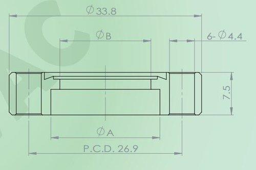 焊接法蘭(通孔)