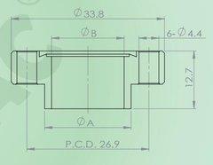 焊接短頸法蘭(通孔)