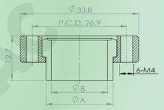 可旋焊接短頸法蘭(螺紋孔)