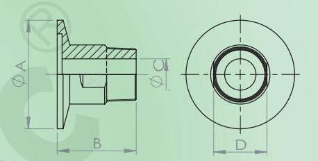 KFpipe接頭(內螺紋)
