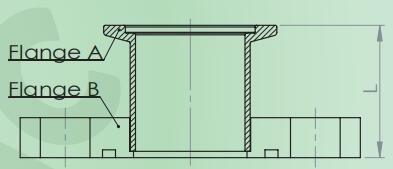 管狀轉接頭(帶密封槽)