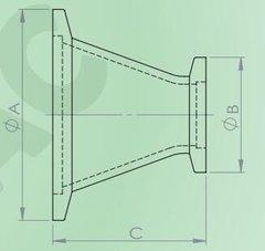 圓錐形變徑轉接頭