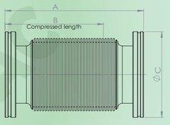 ISO可伸縮波紋軟管