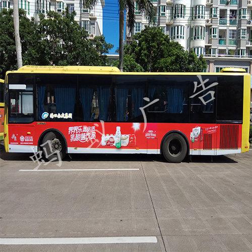 海南公交车广告专业投放