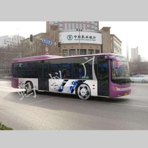 海南公交车投放广告