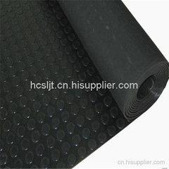 黑色防滑圆扣胶板