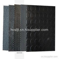 黑色防滑柳叶胶板