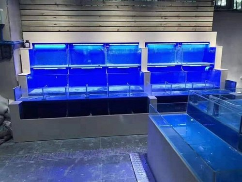 贵州玻璃海鲜池