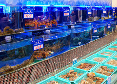 贵阳酒店海鲜池厂家