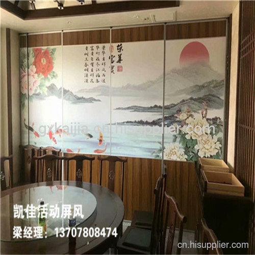 广西酒店移动隔墙安装