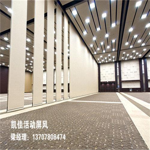 悬挂组装式高大型活动隔断(安装