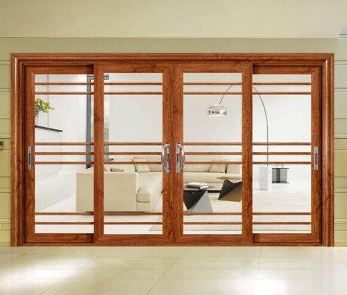 推拉門不僅美觀,而且使用方便,節省空間。