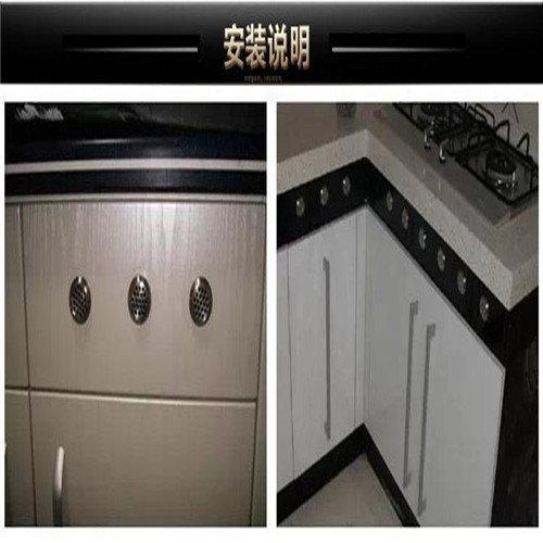 海南橱柜bwin登录注册——(读家家具)为什么灶下面的橱柜门要留气孔?
