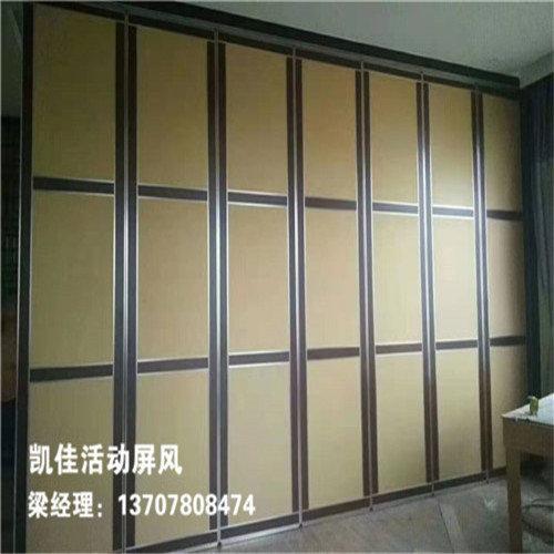 柳州桂景湾幼教活动室活动屏风安装