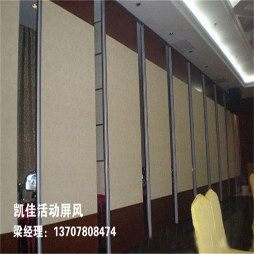 南宁绿地广场办公活动隔断安装