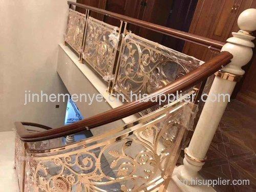 室内金属楼梯安装