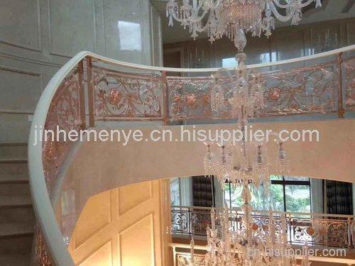 雅帝乐室内金属楼梯安装