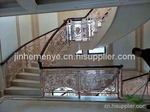 潍坊雅帝乐室内金属楼梯安装