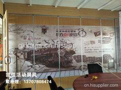 柳州河池酒店包厢活动屏风批发