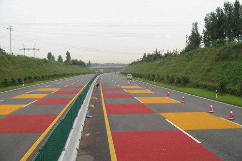 陶瓷骨料彩色防滑路面施工