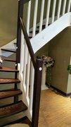 贵阳实木楼梯安装(钢木楼梯)
