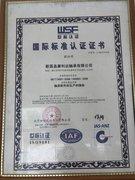 国际标准证书