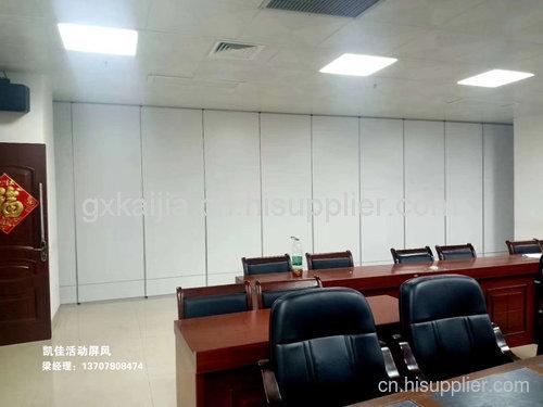 柳州文化馆活动屏风安装