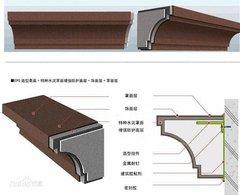 西安eps裝飾線條定做廠家