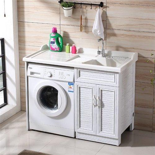长沙全铝洗衣机柜定制