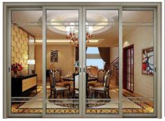 钛镁合金玻璃门