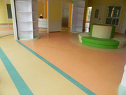 pvc膠地板是幼兒園地面鋪設的正確選材