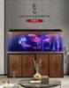 中式钢木鱼缸