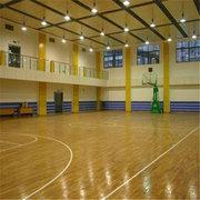 海南學校木地板——籃球館木地板清潔怎麽做?