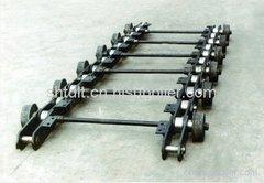 移動式鑄鐵機鏈條