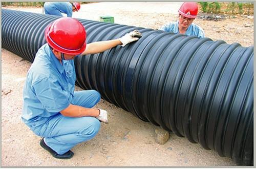 广西HDPE钢带螺旋波纹管厂