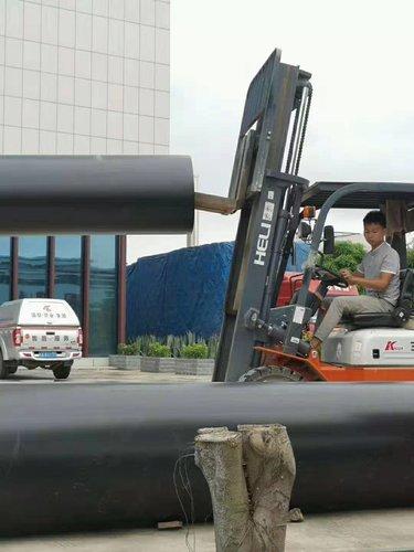 广西建工PE管道送达搬运