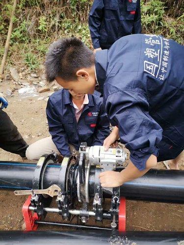 绿城水务输水管道安装